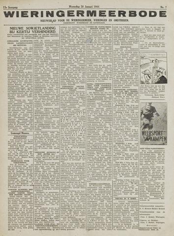 Wieringermeerbode 1944-01-26