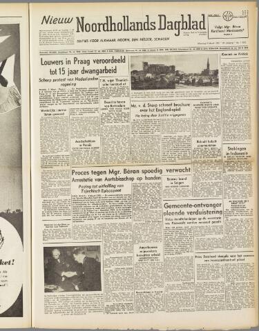 Nieuw Noordhollandsch Dagblad : voor Alkmaar en omgeving 1950-03-06
