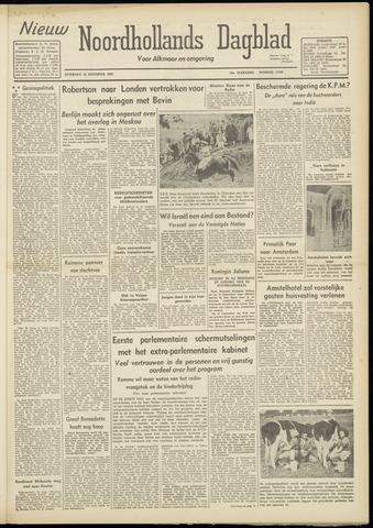 Nieuw Noordhollandsch Dagblad : voor Alkmaar en omgeving 1948-08-14