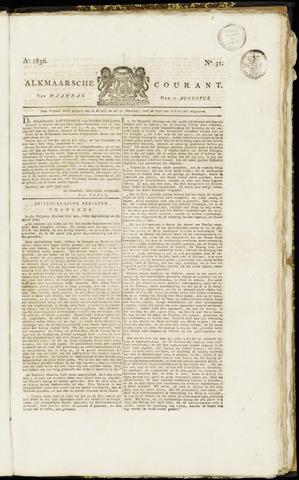 Alkmaarsche Courant 1836-08-01