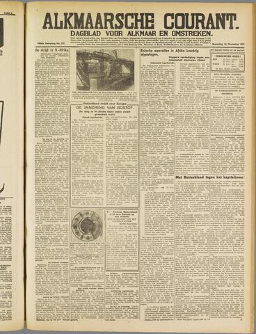 Alkmaarsche Courant 1941-11-24