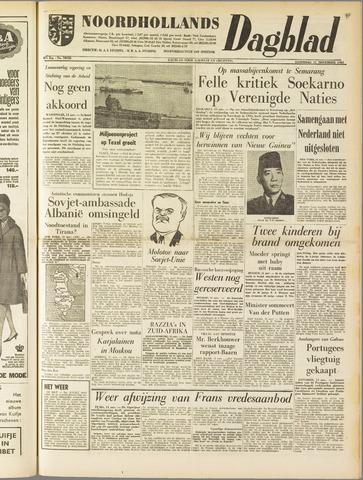 Noordhollands Dagblad : dagblad voor Alkmaar en omgeving 1961-11-11
