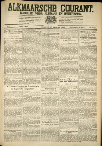 Alkmaarsche Courant 1930-01-10