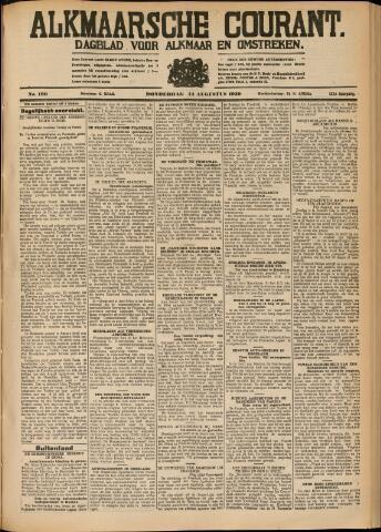 Alkmaarsche Courant 1930-08-14