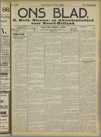 Ons Blad : katholiek nieuwsblad voor N-H 1913-12-06