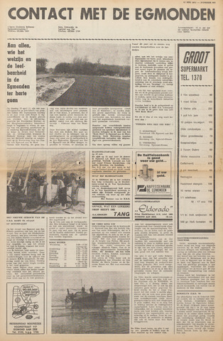 Contact met de Egmonden 1971-05-12