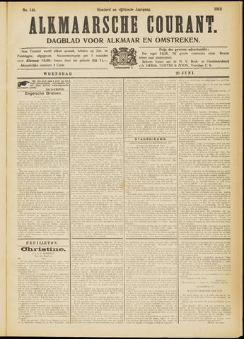 Alkmaarsche Courant 1913-06-25