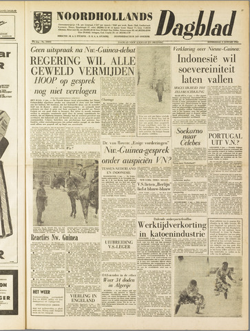 Noordhollands Dagblad : dagblad voor Alkmaar en omgeving 1962-01-04