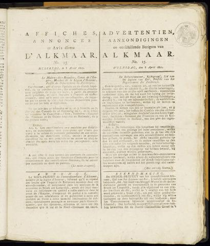 Alkmaarsche Courant 1812-04-08