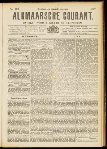 Alkmaarsche Courant 1907-05-01