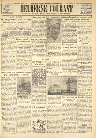 Heldersche Courant 1950-01-18