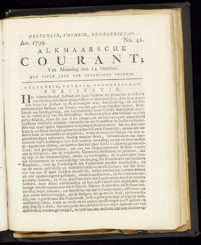 Alkmaarsche Courant 1799-10-14