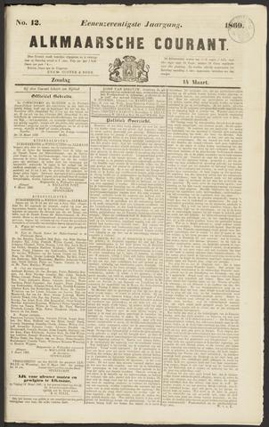 Alkmaarsche Courant 1869-03-14