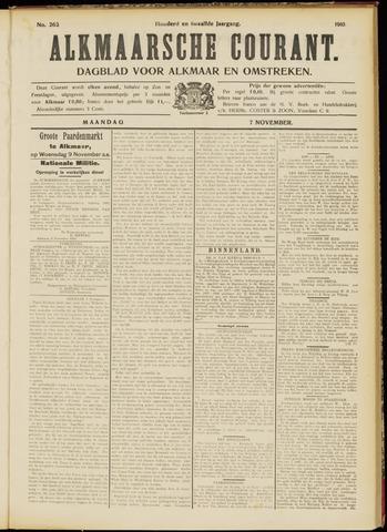 Alkmaarsche Courant 1910-11-07