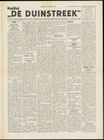 De Duinstreek 1949-03-25