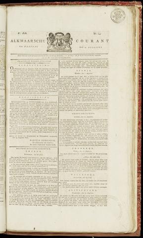 Alkmaarsche Courant 1826-08-21