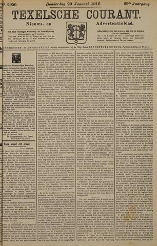 Texelsche Courant 1916-01-20
