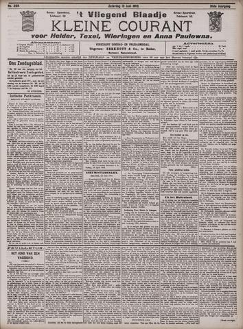 Vliegend blaadje : nieuws- en advertentiebode voor Den Helder 1903-06-13