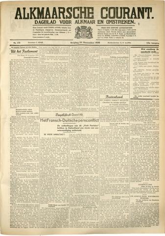 Alkmaarsche Courant 1933-11-24