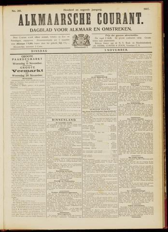 Alkmaarsche Courant 1907-11-05