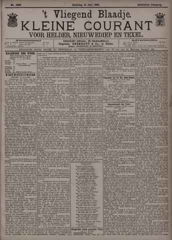 Vliegend blaadje : nieuws- en advertentiebode voor Den Helder 1890-06-14
