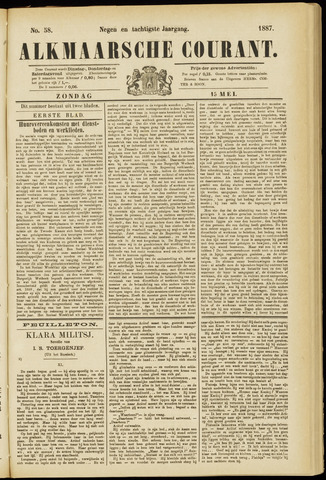 Alkmaarsche Courant 1887-05-15