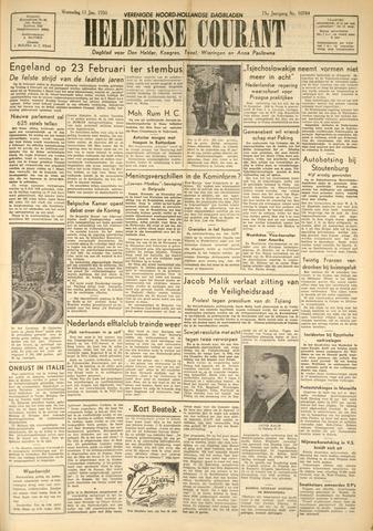 Heldersche Courant 1950-01-11