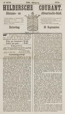 Heldersche Courant 1871-09-16