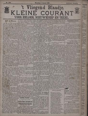 Vliegend blaadje : nieuws- en advertentiebode voor Den Helder 1890-01-01