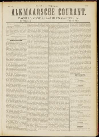 Alkmaarsche Courant 1910-10-08