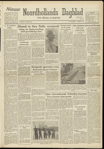 Nieuw Noordhollandsch Dagblad : voor Alkmaar en omgeving 1948-01-31