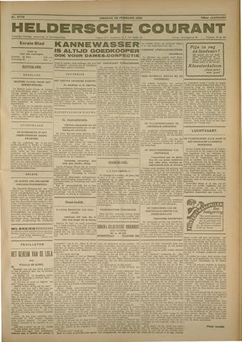 Heldersche Courant 1930-02-25