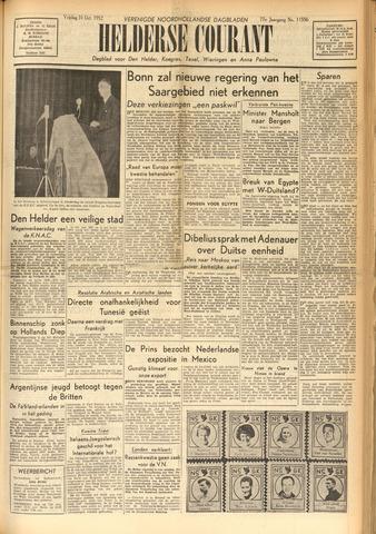 Heldersche Courant 1952-10-31
