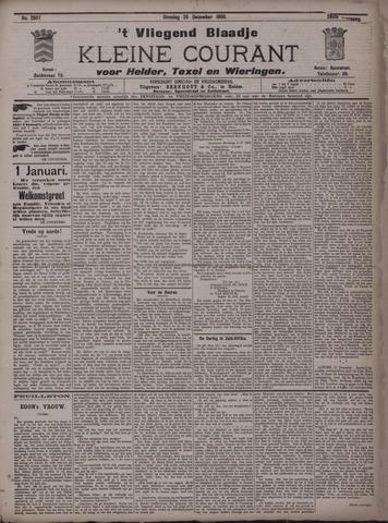 Vliegend blaadje : nieuws- en advertentiebode voor Den Helder 1900-12-25