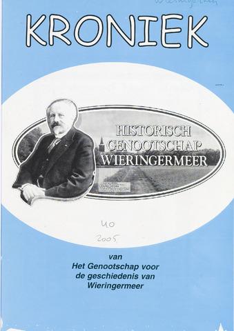Kroniek Historisch Genootschap Wieringermeer 2005-04-01