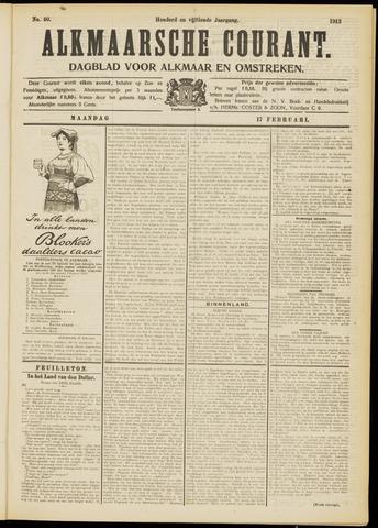 Alkmaarsche Courant 1913-02-17
