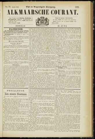 Alkmaarsche Courant 1893-06-25