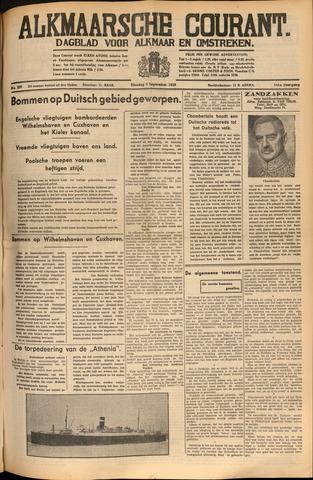 Alkmaarsche Courant 1939-09-05