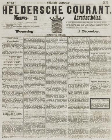 Heldersche Courant 1875-12-01