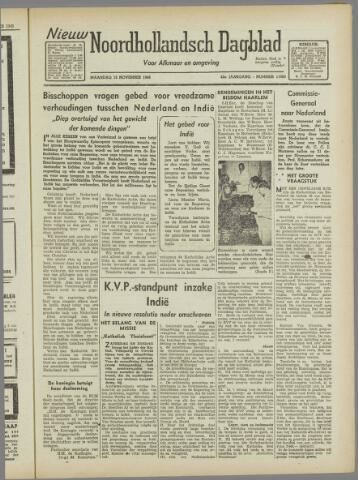 Nieuw Noordhollandsch Dagblad : voor Alkmaar en omgeving 1946-11-18