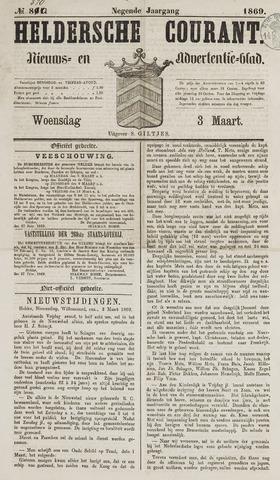 Heldersche Courant 1869-03-03