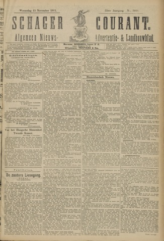 Schager Courant 1911-11-15
