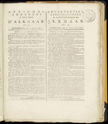 Alkmaarsche Courant 1813-08-11