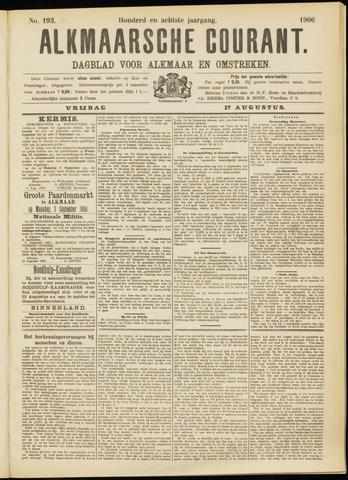 Alkmaarsche Courant 1906-08-17