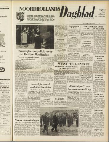 Noordhollands Dagblad : dagblad voor Alkmaar en omgeving 1954-06-08