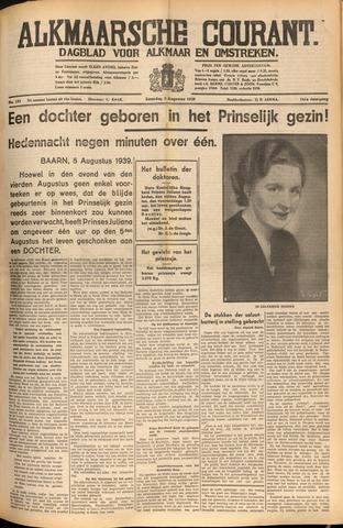 Alkmaarsche Courant 1939-08-05