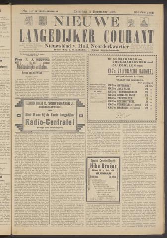Nieuwe Langedijker Courant 1926-12-11