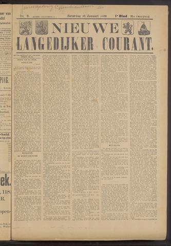 Nieuwe Langedijker Courant 1922-01-21