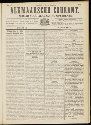 Alkmaarsche Courant 1908-11-21