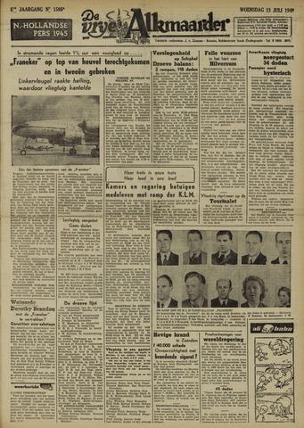De Vrije Alkmaarder 1949-07-13